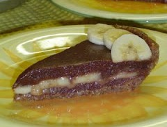 Chocolate Banana Almond Butter Pie