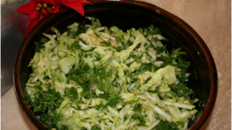 Zucchini and Herb Salad