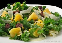 Fennel Orange Kale Salad
