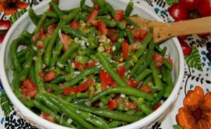 Chilled Green Beans with Dill
