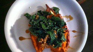 Cinnamon Sweet Potato & Kale Delight