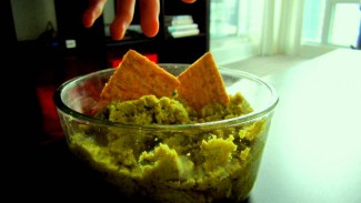 Split Green Pea Hummus