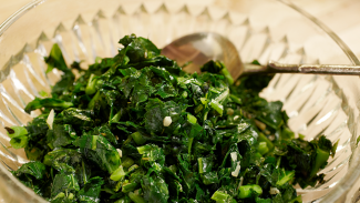 Sautéed Collards with Herbs