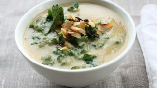 Roasted Rutabaga & Parsnip Soup