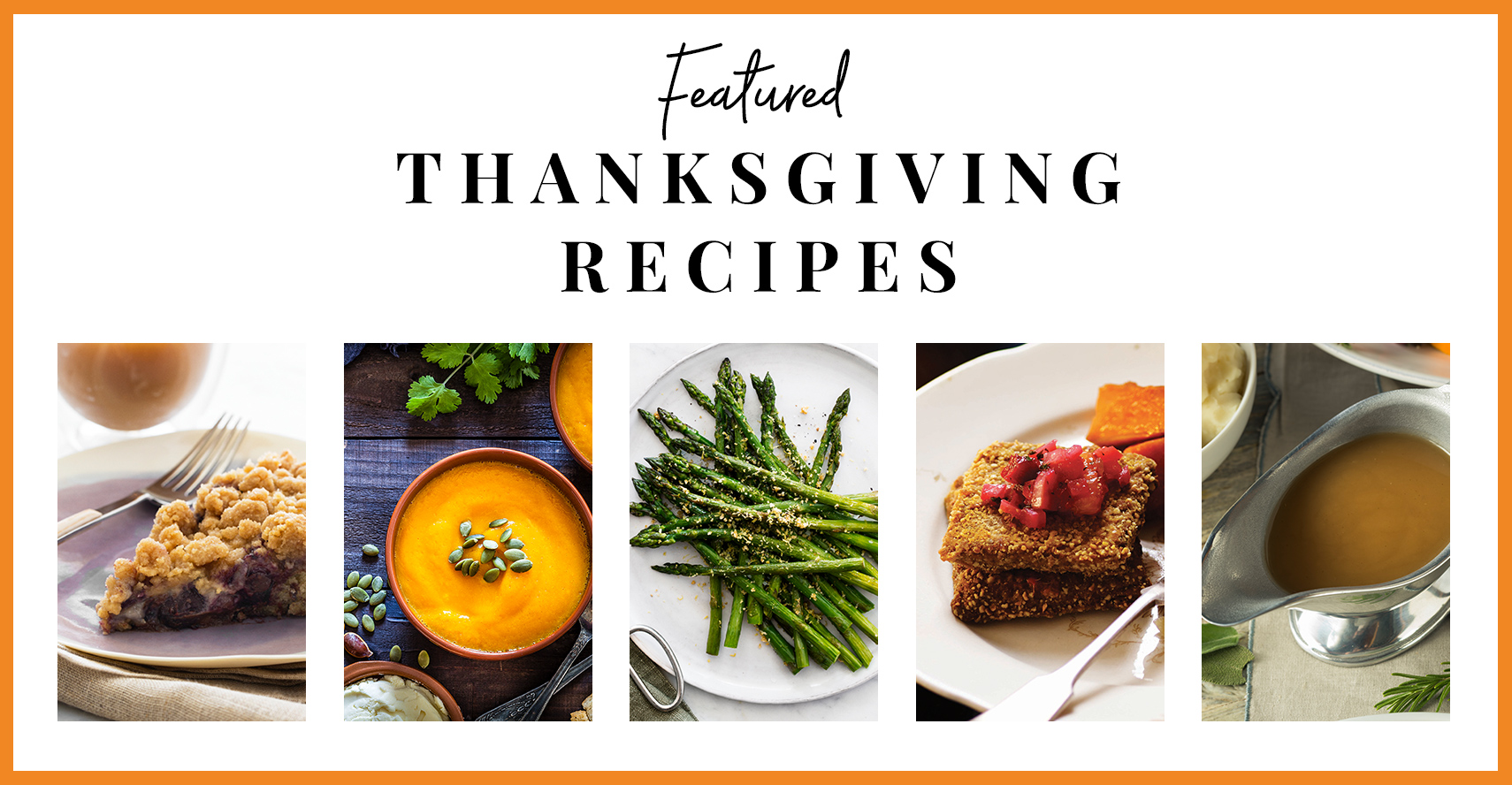 Thanksgiving Menu Preview