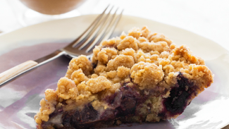 Chocolate Cherry Coffee Cake