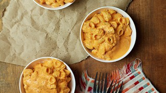 Roasted Red Pepper Mac & Cheese