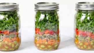Super Food Salad-in-a-Jar