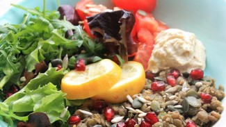 Jewelled Lentil Super Salad