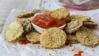 Hemp Almond Parmesan Potato Chip Rounds