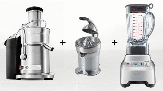 Giveaway: Win a Breville Juicer, Blender & Citrus Press!