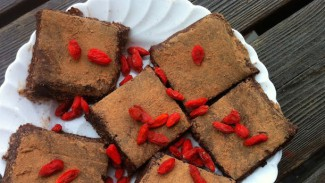 Raw Goji Brownies