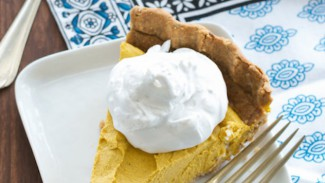 Creamy Pumpkin Coconut Pie