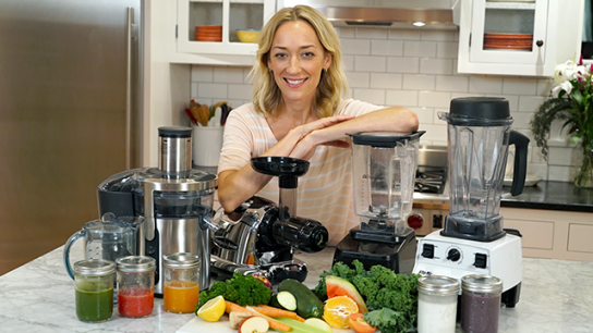 The difference between juicing & blending
