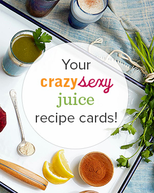 Freebie: Crazy Sexy Recipe Cards