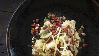 Cauliflower With Olives and Sun-dried Tomatoes