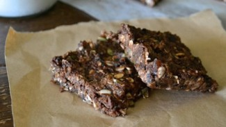 Raw Double Chocolate Mint Bars