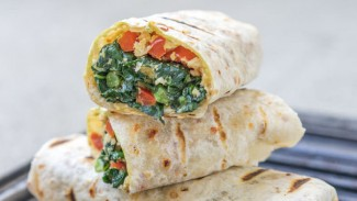 Grilled Kale Wraps