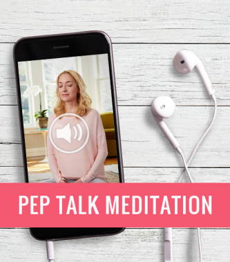 Freebie: Pep Talk Meditation
