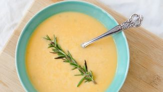 Creamy Rosemary Sweet Potato Soup