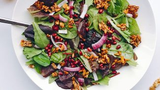 Sweet Crunchy Mixed Greens