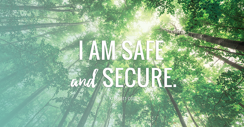 I am safe affirmation