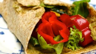 Lentil Avocado Spread Wrap