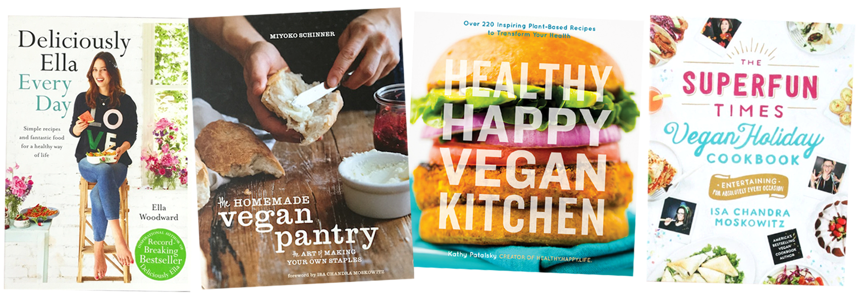 best vegan cookbooks group 2
