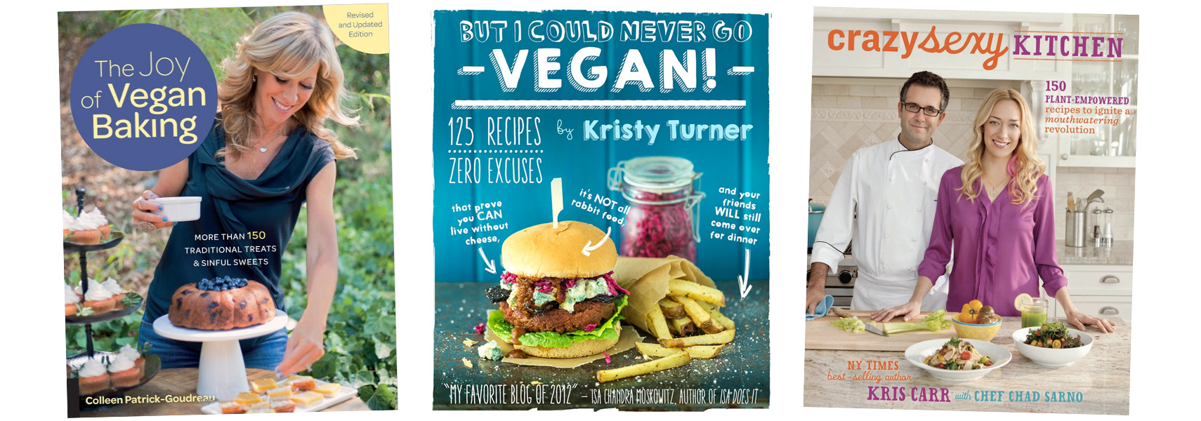 vegan cookbooks 3