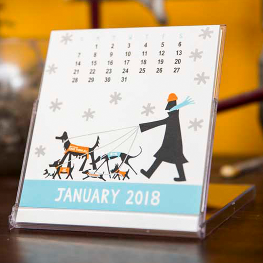 best friends calendar holiday gift