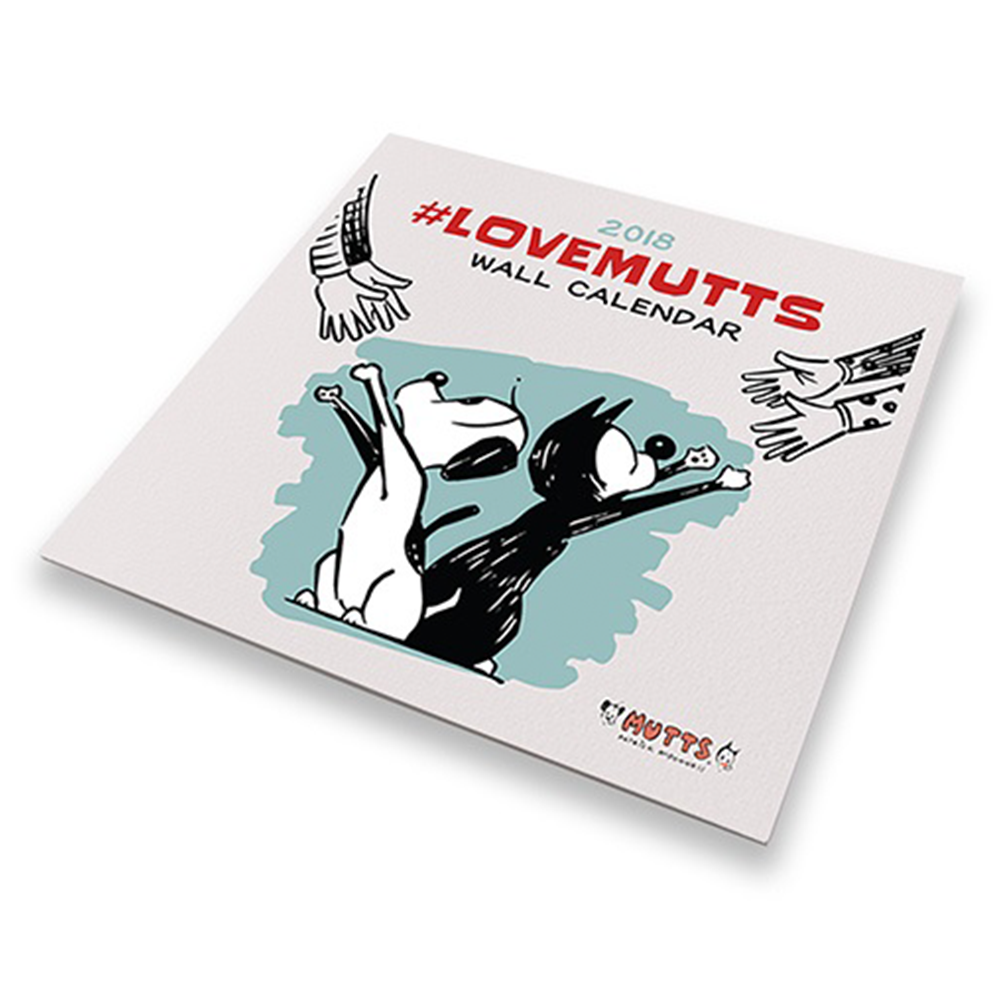 mutts calendar holiday gift
