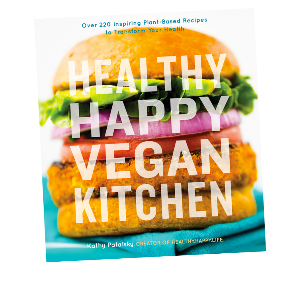 happy healthy vegan cookbook holiday gift