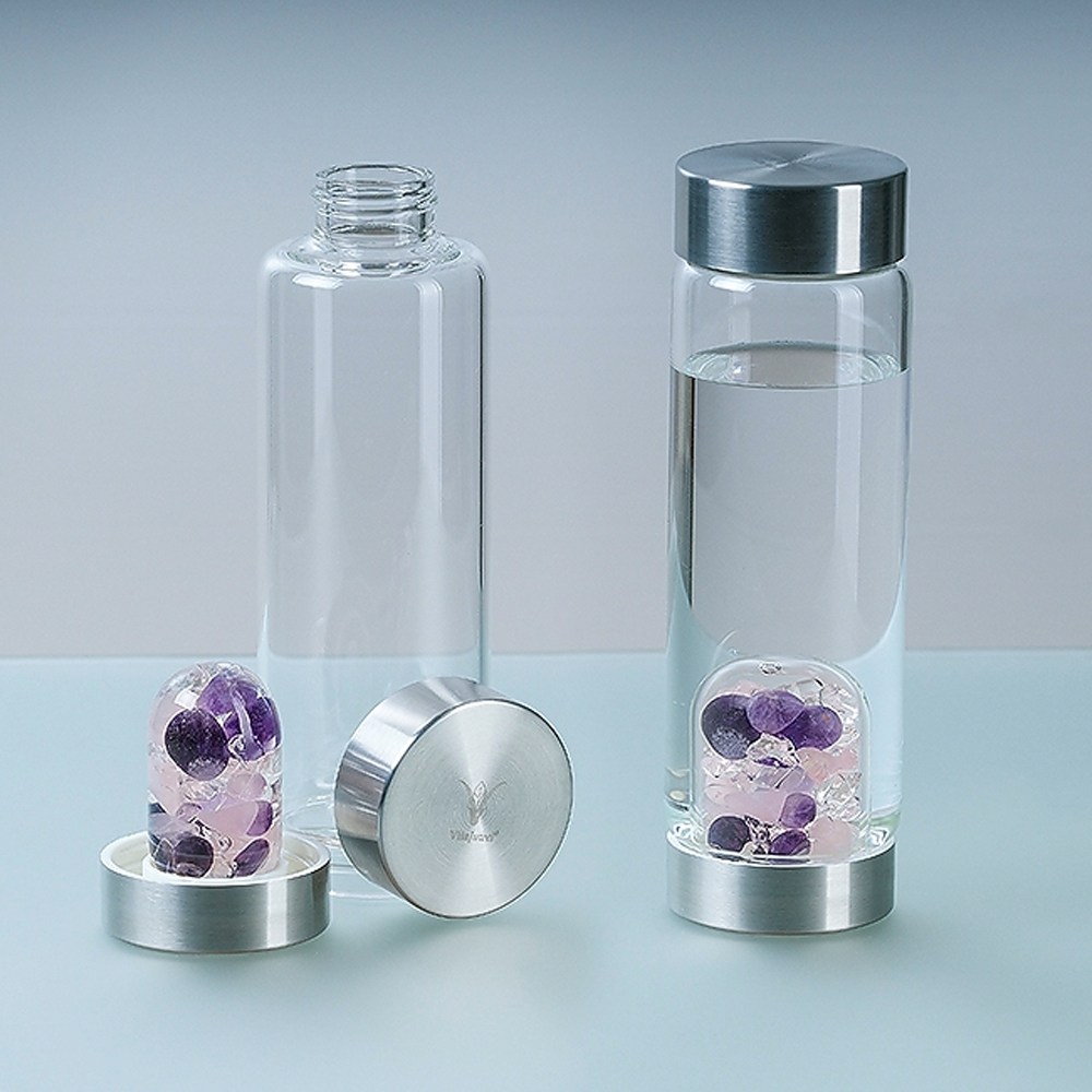 crystal water bottle holiday gift