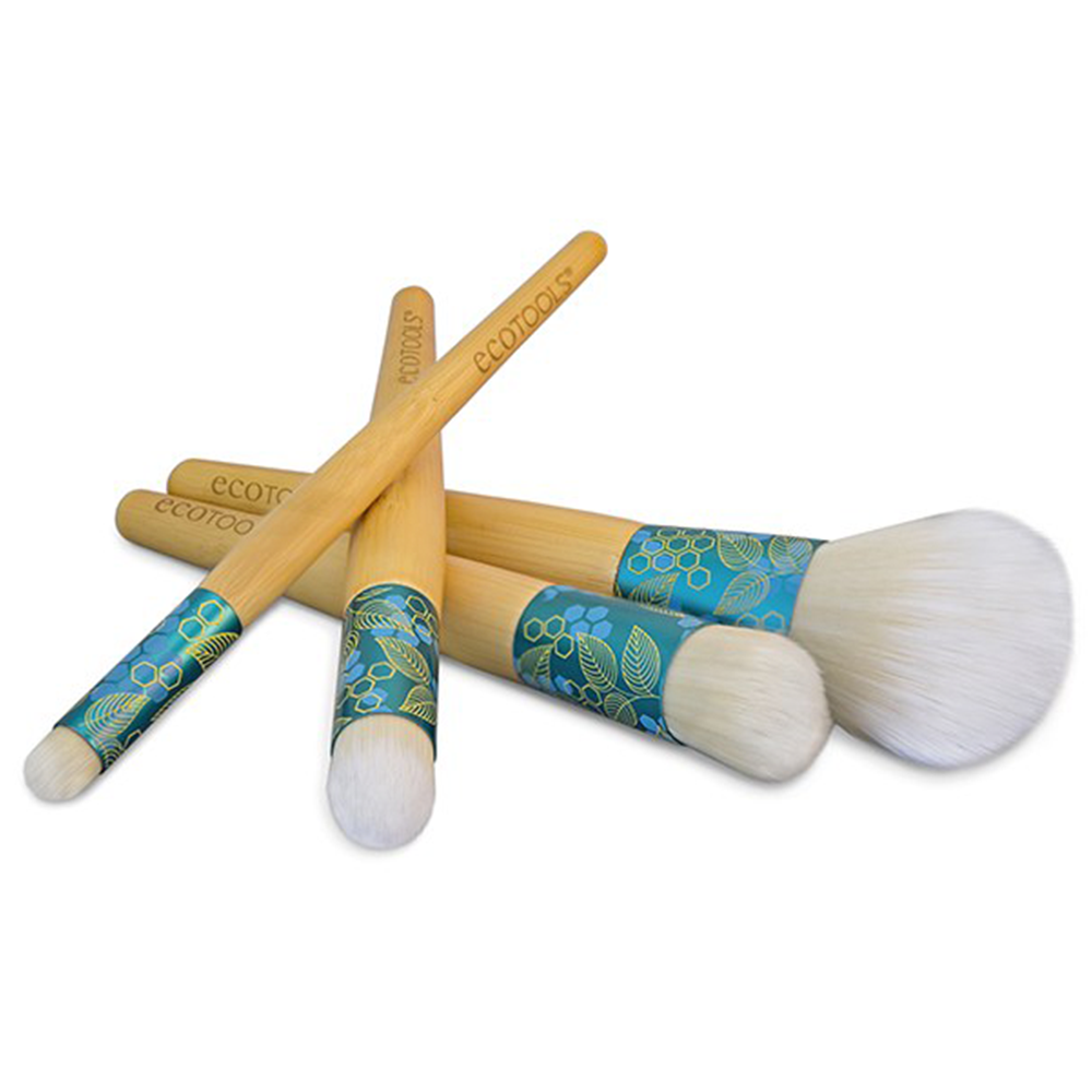 ecotools brush set holiday gift