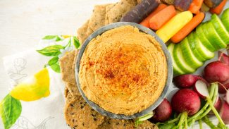 Smoky Southwestern Hummus (video)