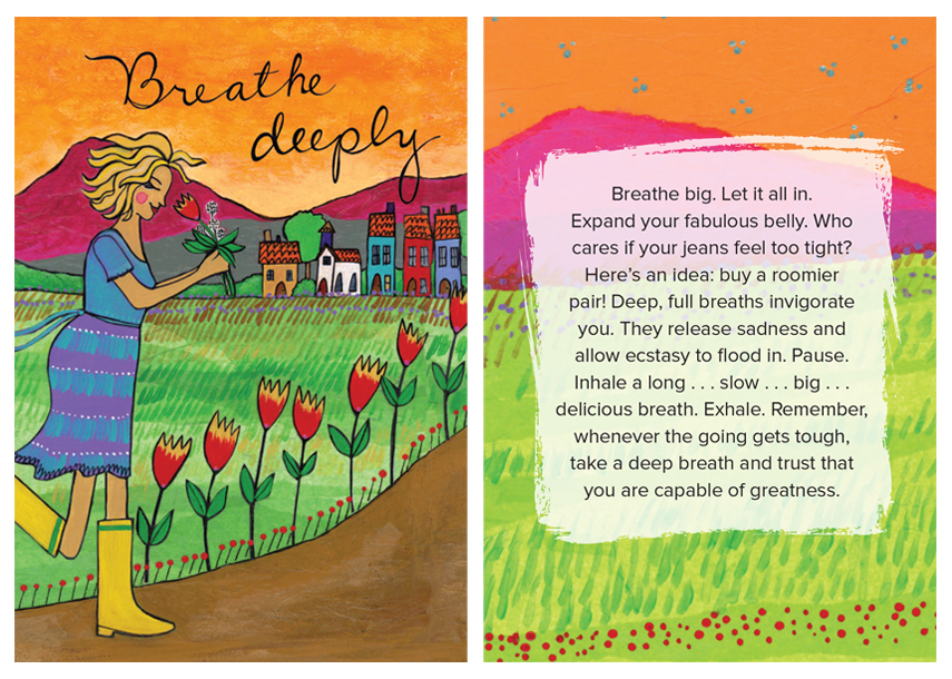Breathe deeply - how to let go