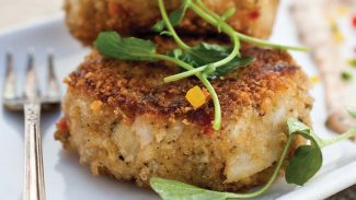 Hearts-Of-Palm-Style Crab Cakes with Rémoulade