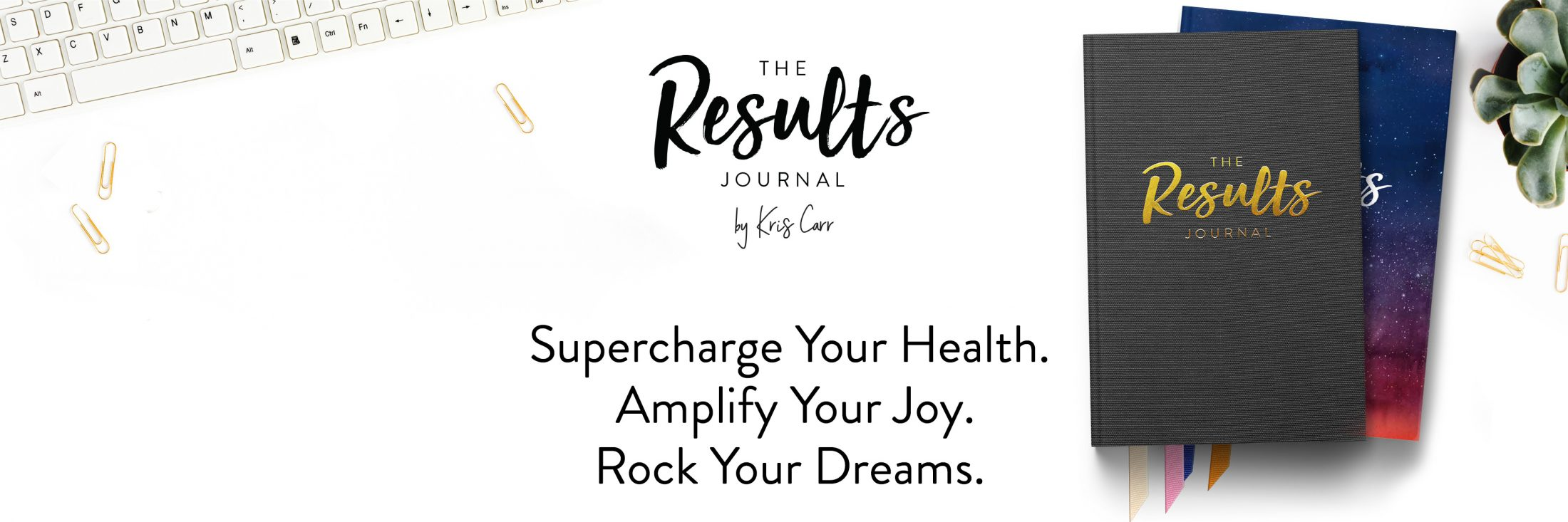 the results journal by kris carr