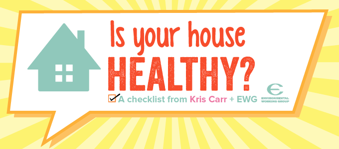 KrisCarr.com Healthy Home Checklist