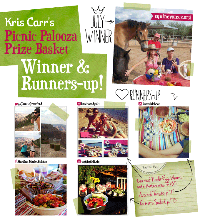 July Picnic Palooza Winners and Runners-up