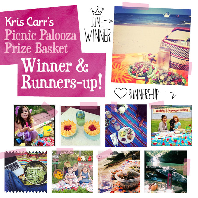 June Picnic Palooza Contest Winner and Runners Up