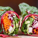 Sesame Ginger Asian Wraps
