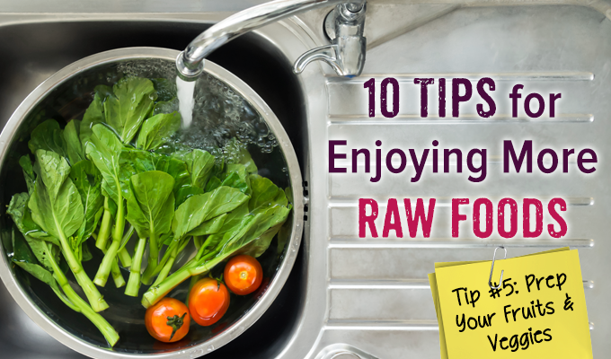 Raw Food Tips