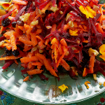Shredded Beet & Carrot Salad