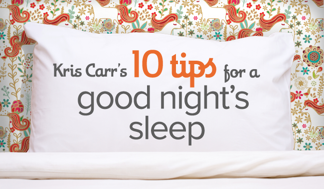How to Sleep Better: 10 tips for healthy & restorative sleep