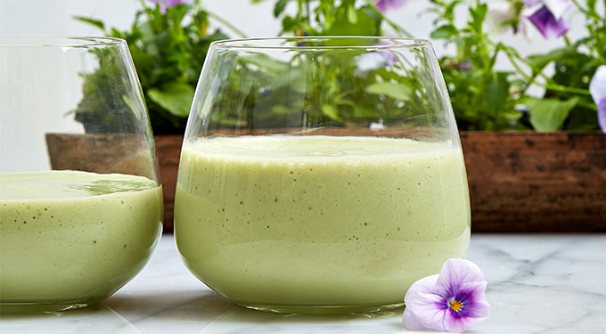 all day energy green smoothie recipe