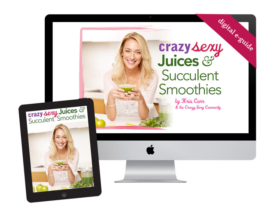 Kris Carr green juice and smoothie e-guide