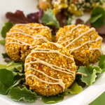 Raw Carrot Falafel