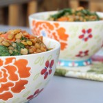 Lemony Lentil & Kale Rice Bowl