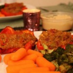Savory Millet Stuffed Peppers